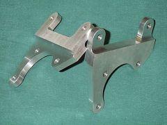 Aluminum caliper brackets