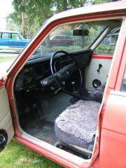 front seats & dash