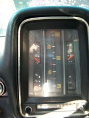 Thermometer style Speedometer