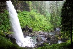 The North Falls at Silver Falls