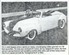 Custom '46 Ford by Pete Brock