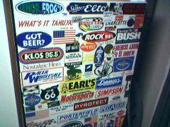 Mom and Dad's garage fridge (1 of 2)