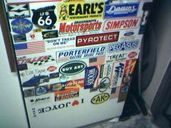 Mom and Dad's garage fridge (2 of 2)