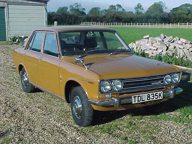 KA24DE powered 1971 Datsun 1400