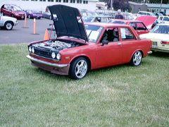 Dave Lum's Z32 twin turbo powered 510