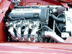 SR20det powered Roadster motor pas.