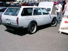 Anthony's Supra powered Wagon