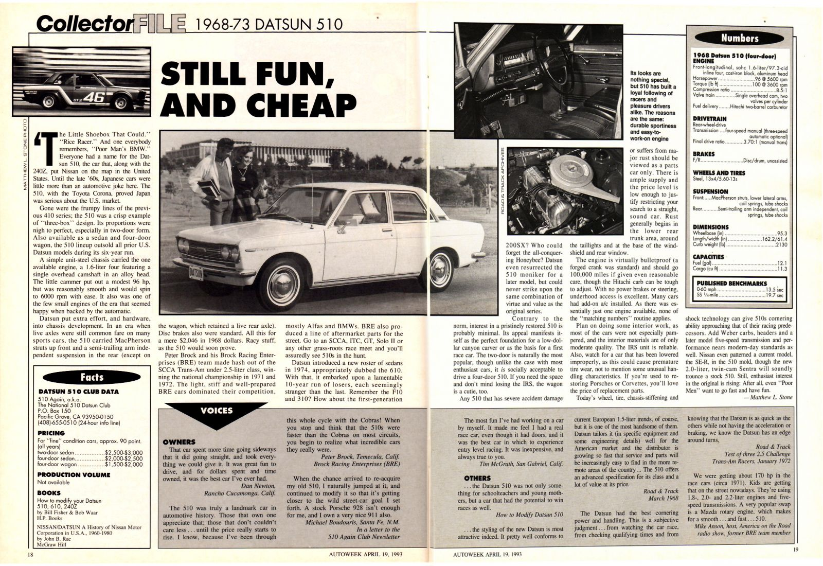 Autoweek Collector FIle (2 of 2)