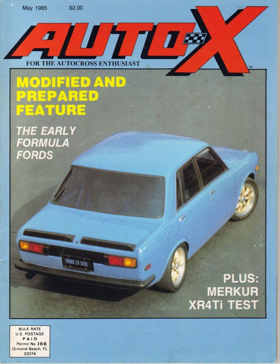 Brian Feldman's AutoX Cover Shot