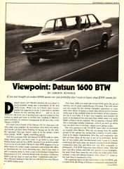 Datsun 1600 BTW (1 of 2)