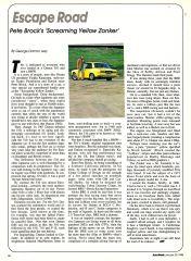 Pete Brock's 'Screaming Yellow Zonker' article