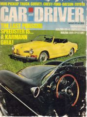 August '72 Cover