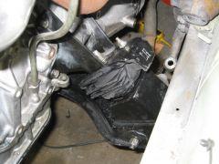 Driver's side motor mount