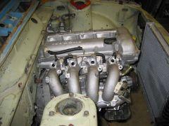 Passenger Side Engine Compartment