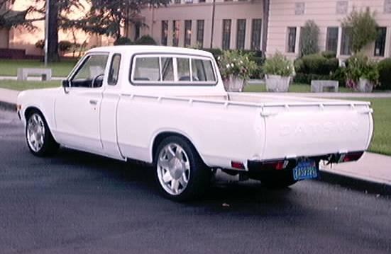 1978 620 King cab rear