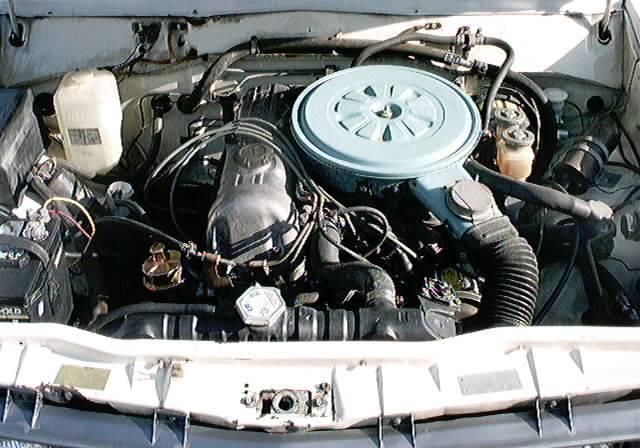 1978 620 King cab engine