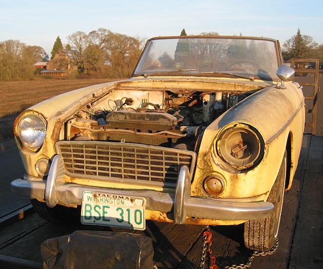 1964 Datsun 1500 Fairlady Project