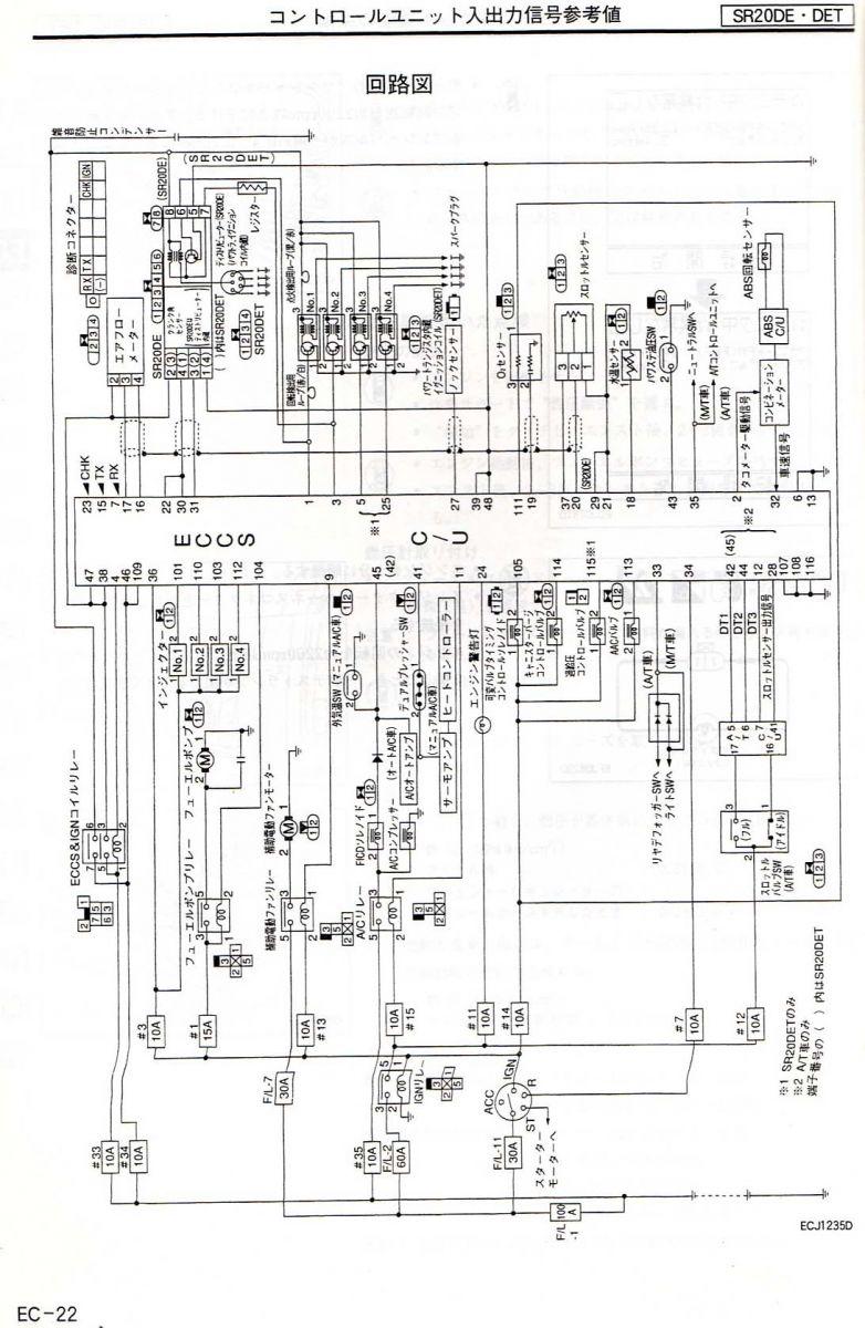 S15 ECM Diagram