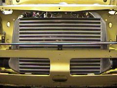 New, and biger intercooler