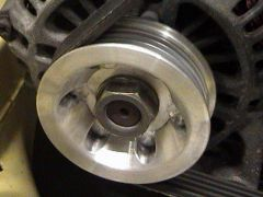 The billet pulleys