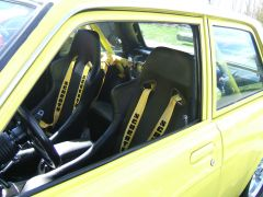 yellow 2dr interior