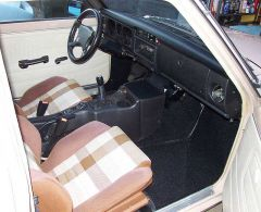 Toyota FX16 seats, Saturn console