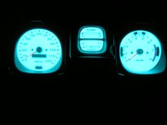 EL Gauges Illuminated w/ Room Lights Off!