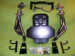 VG30 install kit wiht radiator brackets