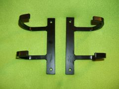 EE brackets for Griffin aluminum racing radiator