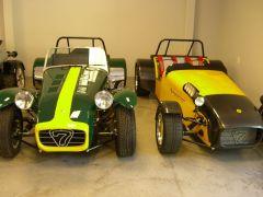 Older Lotus 7s