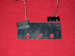 LED mount plate