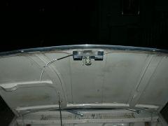 LED mounted to hood