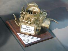 The Golden Carb Award