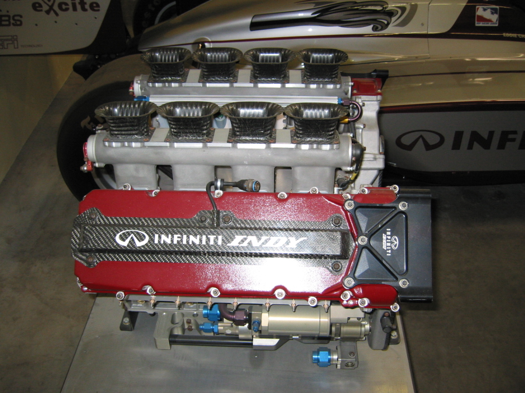 Infiniti Indy display engine