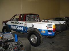 Desert racing truck
