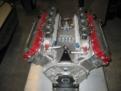 Infiniti Indy display engine