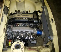 Bluebird SSS Coupe SR20DET Engine Swap