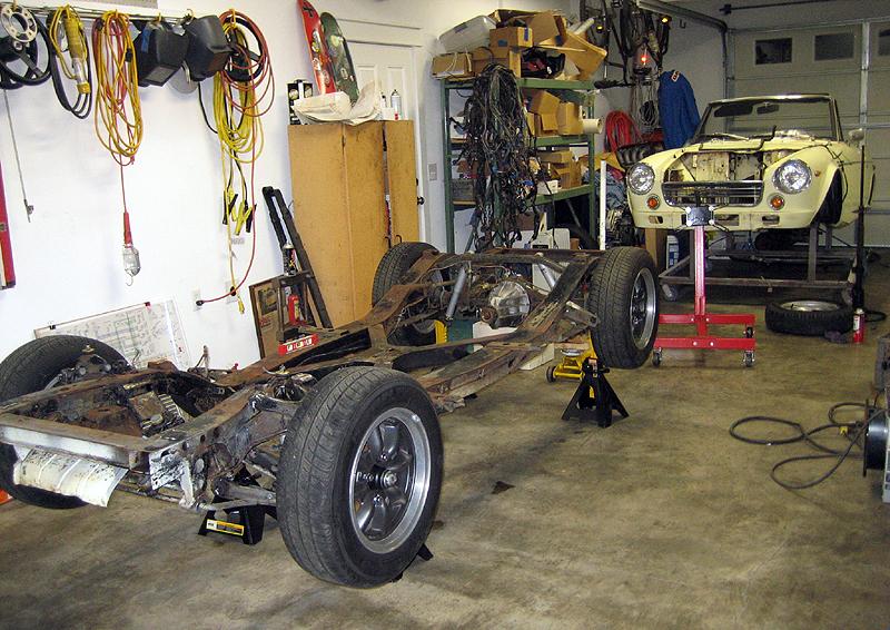 Bob-- 1969 SR20DE Roadster Project