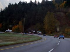 Morning heading up to Hope Hwy 1.