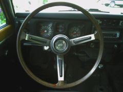 SSS Late Steering Wheel Polished Spokes