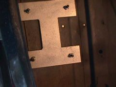JCI Battery Hold Down backing plate