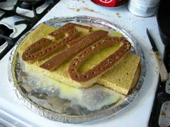 510 50th Birthday Cake Fabrication