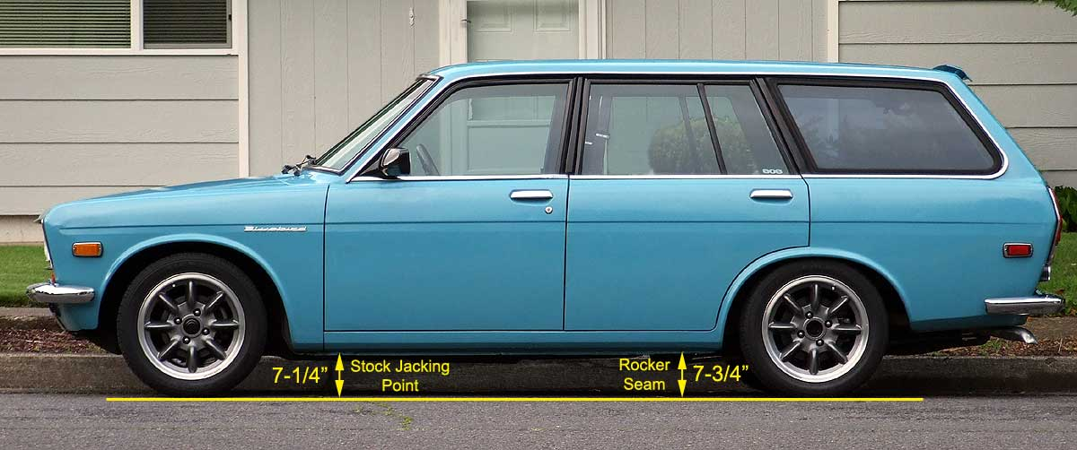 Ride Height Measurement