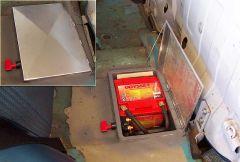 Battery box and kill switch