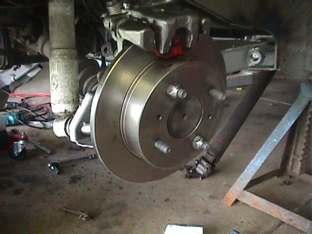 SX disc rear conversion