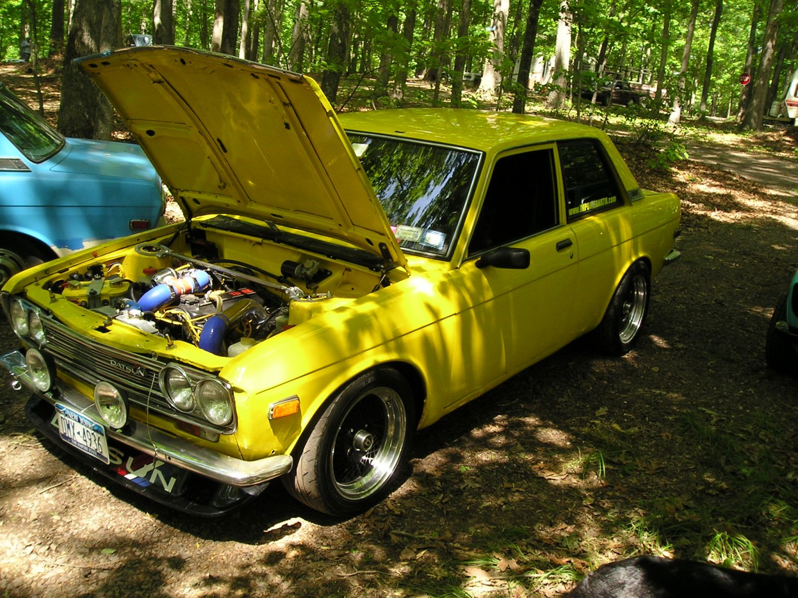 11th Annual East Coast Datsun 510 meet at Cedar Mountain