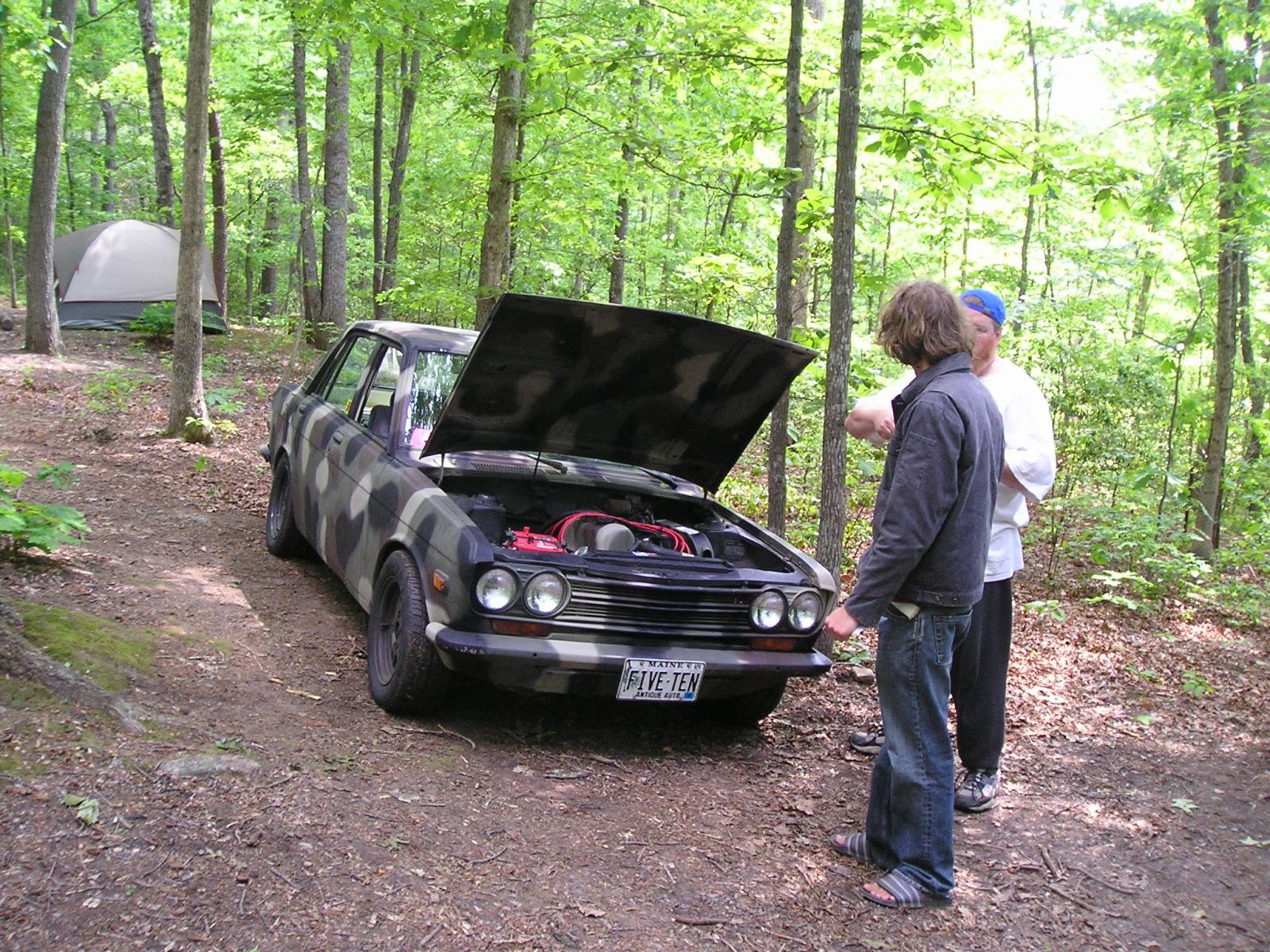 Chris of Maine's Camo 4 door