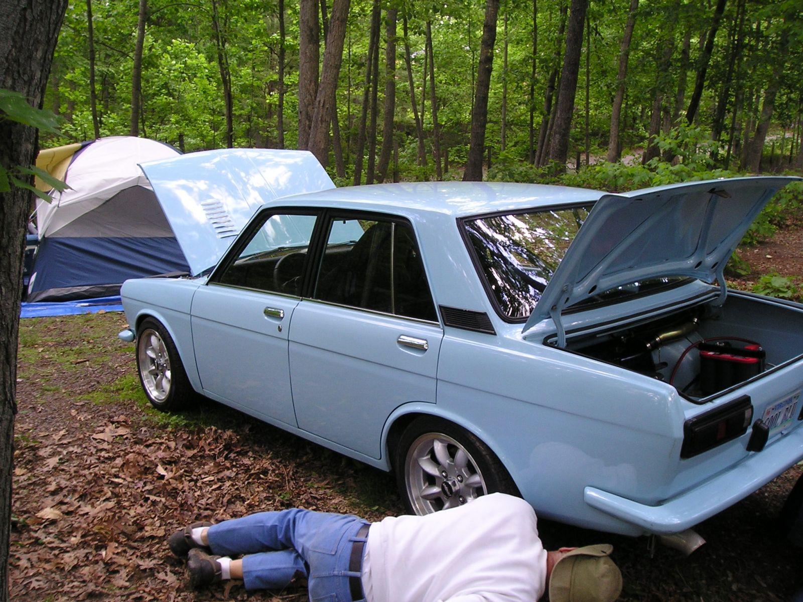 Brian Osborn's New Turbo Car - Turbo Toms old car