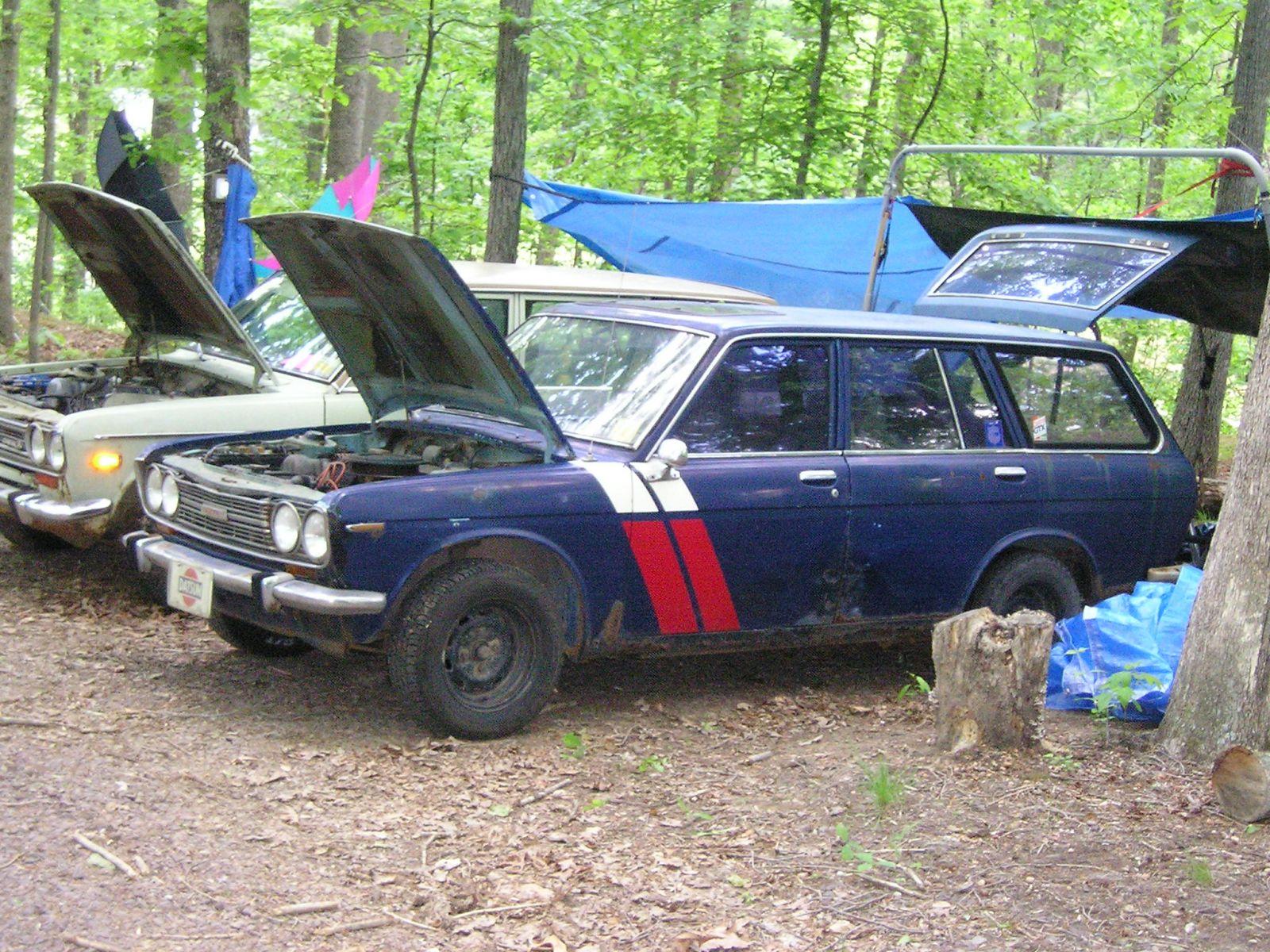Bradley Marshall's 68 Wagon w/ BRE Stripes