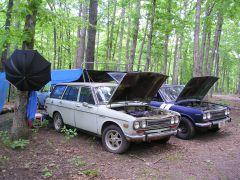 Ethan Marshall's Wagon (and Tent)